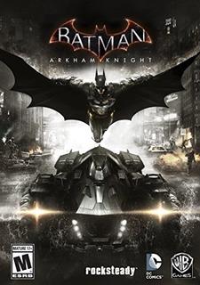 Juegos,batman Arkham Knight - Edición Estándar De Window..