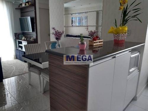 Imagem 1 de 12 de Apartamento Com 3 Dormitórios À Venda, 54 M² Por R$ 249.900,00 - Parque Prado - Campinas/sp - Ap4745