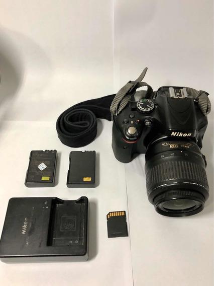 Câmera Nikon D5100 + Kit