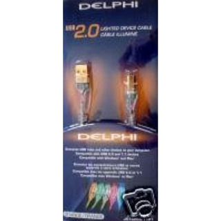 Delphi Cable Usb De Datos Color Naranja 2.0