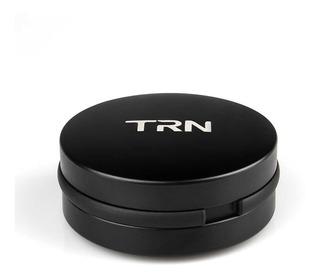 Estuche Metálico Trn Para Audífonos Con 3 Pares Almohadillas