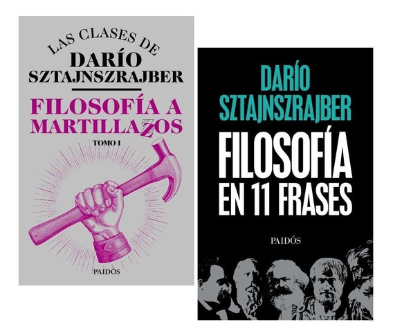 Pack Darío Sztajnszrajber - Filosofía Martillazos - 2 Libros