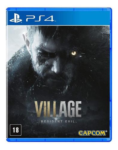Imagen 1 de 3 de Resident Evil Village Standard Edition Capcom PS4  Físico