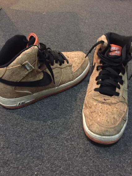 Zapatilla Nike Air Botas De Corcho !!!