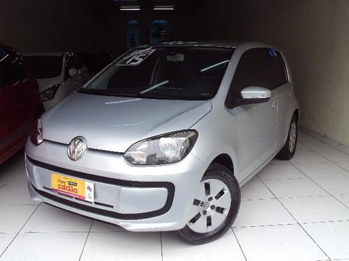 Volkswagen Up Move 1.0 12v Flex Ano 2015 Prata Completo