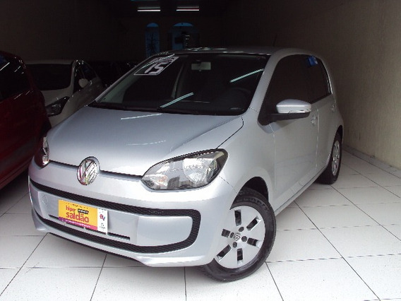 Volkswagen Up Move 1.0 12v Flex Ano 2015 Prata Completo