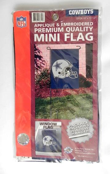 Mini Bandera De Colección Nfl Dallas Cowboys