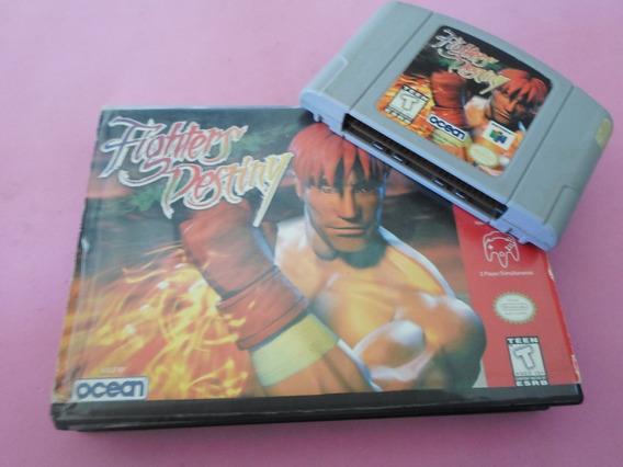 Fighters Destiny Com Caixa Para Original Nintendo 64 N64