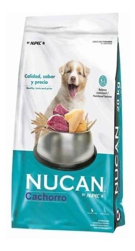 Imagen 1 de 1 de Alimento Nucan para perro cachorro sabor mix en bolsa de 20kg