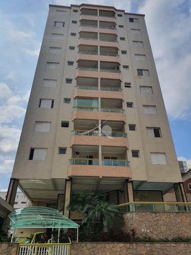 Imagem 1 de 30 de Apartamento Em Praia Grande, Tupi - V5635
