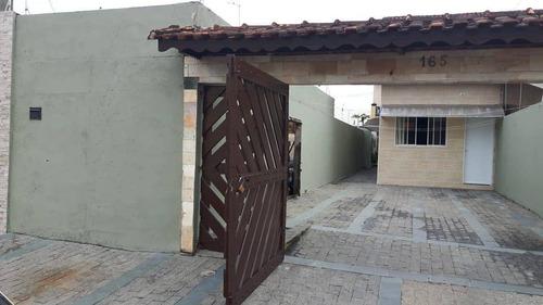 Sobrado Com 3 Dormitórios - Mongaguá/sp - Aceita Permuta Em Imóvel Em Jacareí - So0121