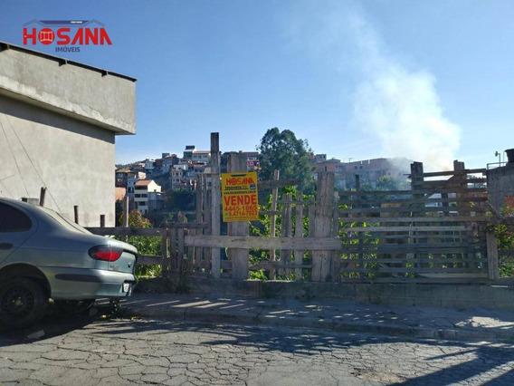 Terreno À Venda, 250 M² Por R$ 100.000,00 - Jardim Marcelino - Caieiras/sp - Te0366