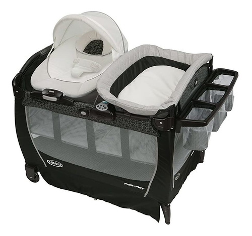 Graco Pack \' N Play Corral Acurrucarse Suite Lx, Pierce