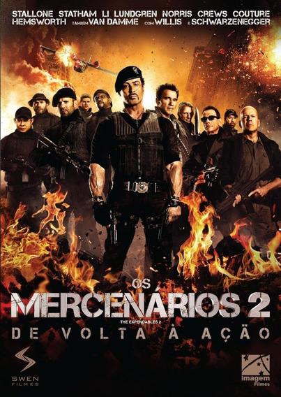 Os Mercenários 2 - De Volta A Ação - Dvd