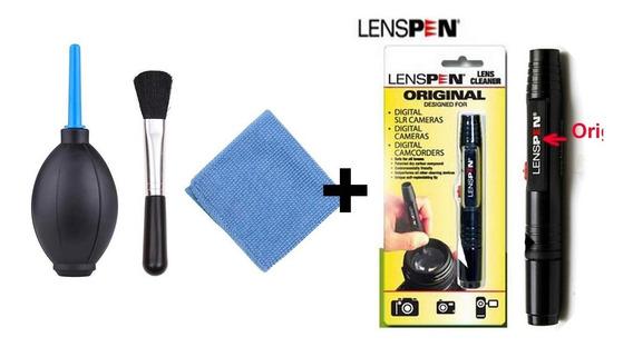 Kit Limpeza Lente/camera Com Lenspen
