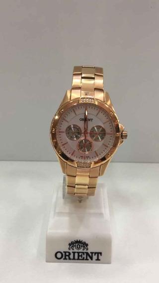 Relógio Orient Feminino Rosê Frssm013