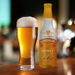 Cerveza De Sorgo Straus Honey Sin Tacc 330 Cm3 X Unidad