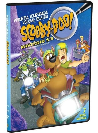 Scooby-doo! - Mistério S/a 1ª Temporada Vol.4 - Dvd - Novo