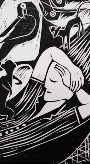 Ciro Fernandes, Xilogravura Original Assinada, 1981