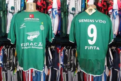 Guaraní 2006 Camisa Titular Tamanho Gg Número 9.