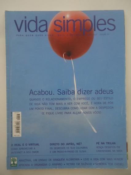 Vida Simples #53 Acabou - Saiba Dizer Adeus