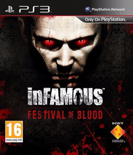 Infamous Festival Of Blood Digital Ps3