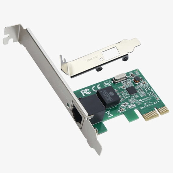 Placa De Rede Pci-e 10/100/1000 Gigabit Realtek Low Profile