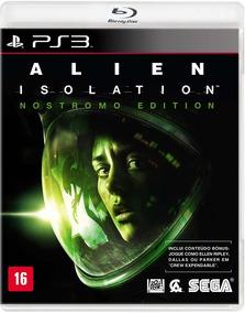 Jogo Ps3 Alien Isolation Nostromo Edition (lacrado)