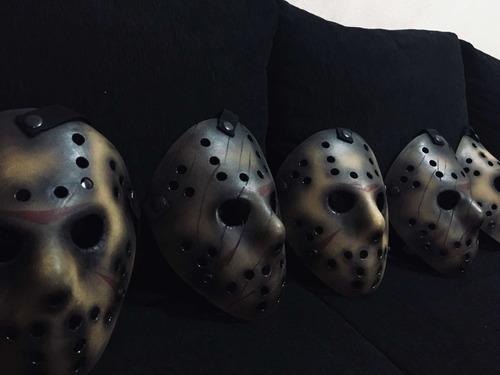 Máscara Jason Original, Terror, Halloween, Disfraz, Freddy