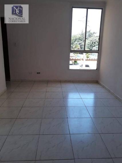 Apartamento Com 2 Dormitórios Para Alugar, 55 M² Por R$ 1.200,00/mês - São José - São Caetano Do Sul/sp - Ap8159