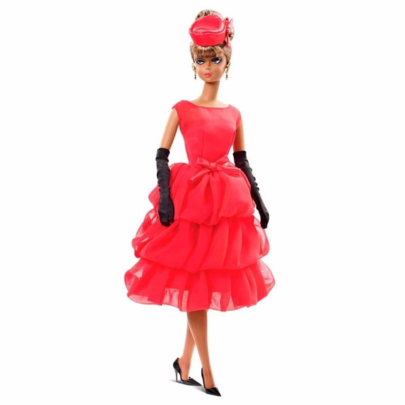 Barbie Collector Silkstone - Little Red Dress - Cgt26 - Nrfb