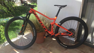 Bicicleta Mtb Scott Spark Rc 900 Team 2019 Carbono Talle M
