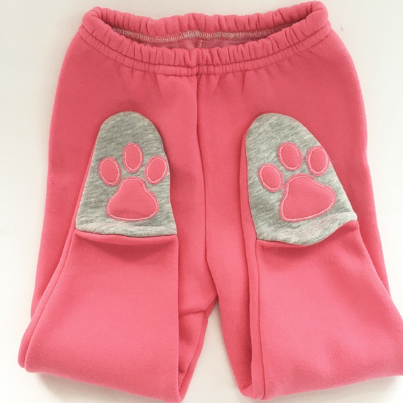 Pantalon Patitas Ranitas Ositos De Bebe Frisadas! Gramy