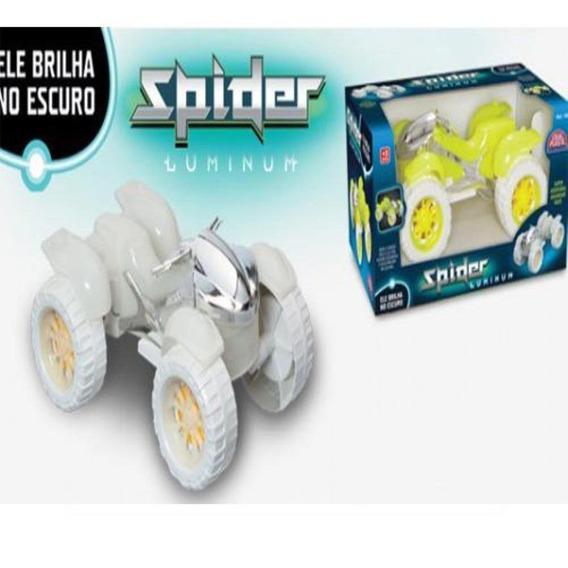 Quadriciclo Spider Luminum Brilha No Escuro Usual Plastic