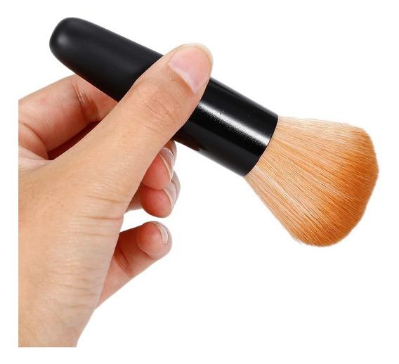 Pincel Para Maquiagem Blush Corretivo Pó Base Profissional