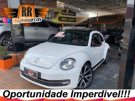 Volkswagen Fusca 2.0 Tsi 2014 Teto Solar Chipado Autos Rr