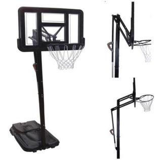 Sistema Tablero Basquet Profesional Aro Red Jirafa Acrilico Basket