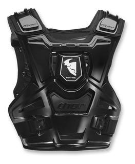 Pechera Peto Thor Sentinel Negro Protector Pecho Talla S/m