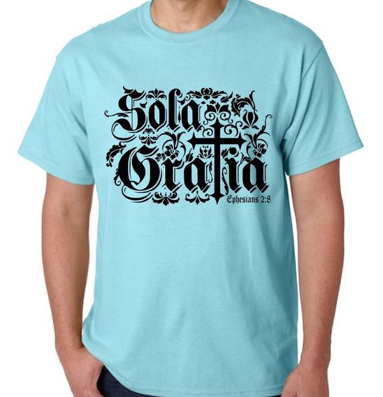 Camisa + Chaveiro Gospel - Sola Gratia - Silveirart 30