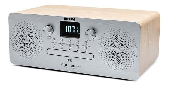 Air Cd Pro Ion Cd Player Com Radio Fm E Bluetooth Aircdpro