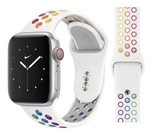 Pulseira Estilo Nike Para Apple Watch 42/44mm - Pride