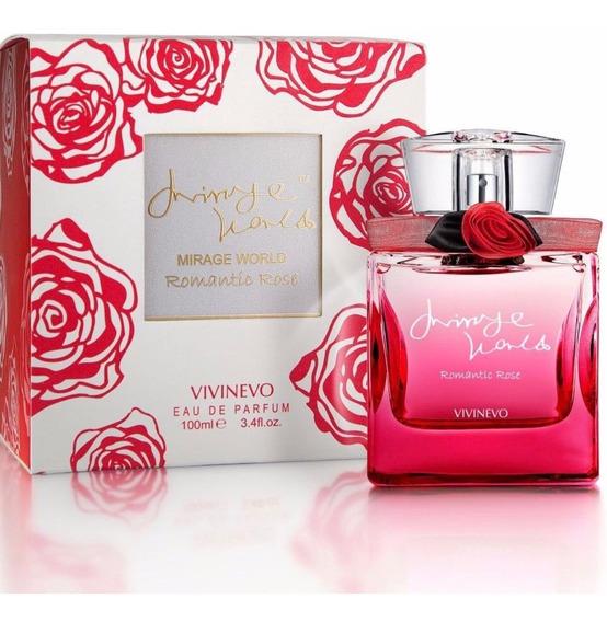 Perfume Mirage World Romantic Rose 100ml Eau De Parfum