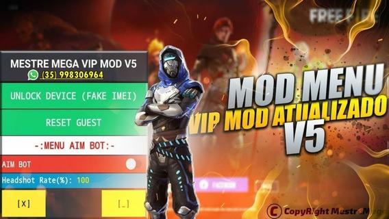 Mod Menu Free Fire Android Antiban Atualizado Envio Imediato