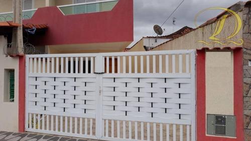 Imagem 1 de 18 de Sobrado Com 3 Dormitórios À Venda No Caiçara Em Praia Grande, Aceita Permuta Ou Parcelamento Direto!!! - So0117