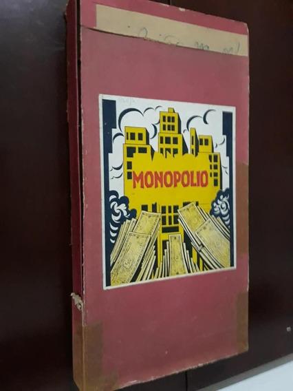 Raro Jogo De Tabuleiro Antigo Monopolio Decada De 40 - Leia