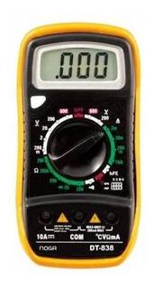 Tester Digital Con Temperatura Resistencia 200 A 2 M Ohm