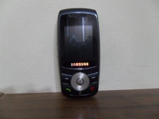 Celular Samsung Sgh E746 Slide Câmera, Rádio Fm, Op Vivo