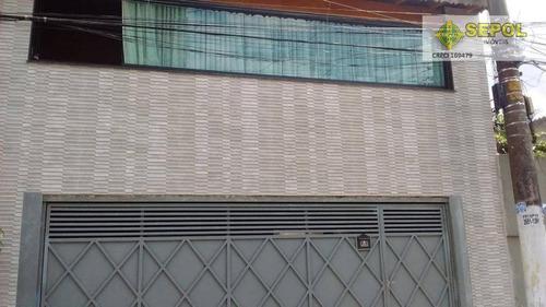Casa Com 3 Dormitórios À Venda, 150 M² Por R$ 470.000,00 - Jardim São Gabriel - São Paulo/sp - Ca0142