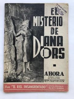 Revista Ahora N° 2455 Diana Dors Toscanini Sofia Loren 1957