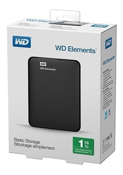 Hd Externo 1tb Usb 3.0 Wd Portatil Western Digital Ps4-xbox
